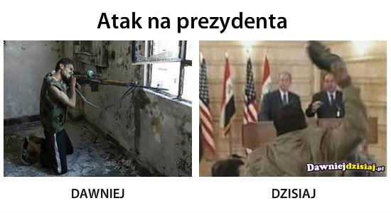 Atak na prezydenta –
