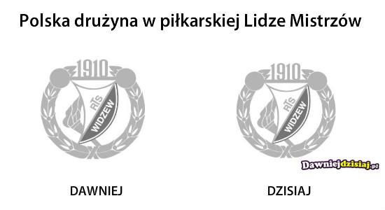 Polska drużyna w piłkarskiej Lidze Mistrzów –