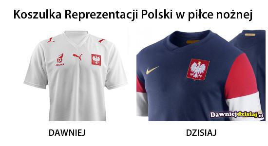Koszulka Reprezentacji Polski w piłce nożnej –
