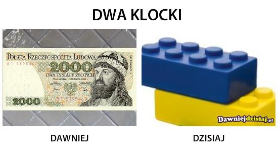 DWA KLOCKI –
