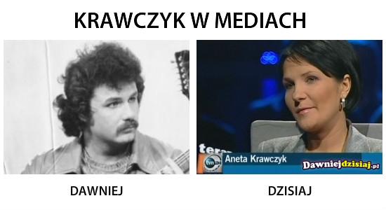 KRAWCZYK W MEDIACH –