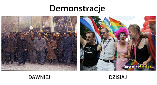 Demonstracje –
