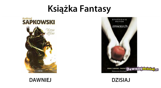 Książka Fantasy –