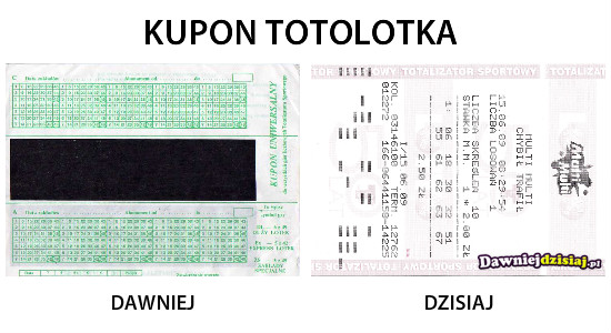 KUPON TOTOLOTKA –