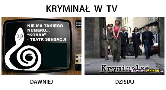 KRYMINAŁ  W  TV –