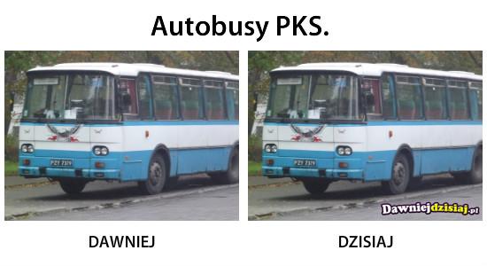 Autobusy PKS. –