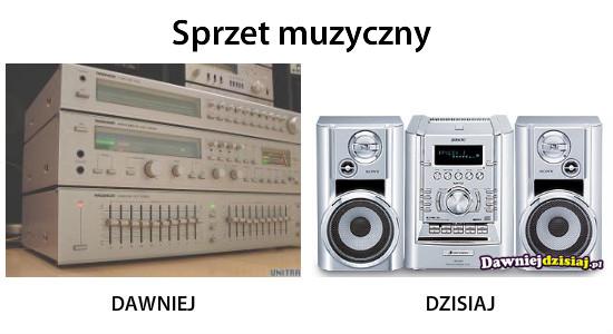 Sprzet muzyczny –