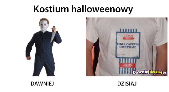 Kostium halloweenowy –