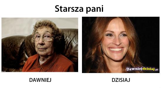 Starsza pani –