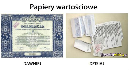 Papiery wartościowe –
