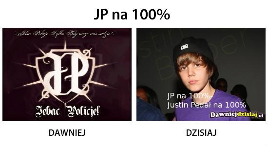 JP na 100% –