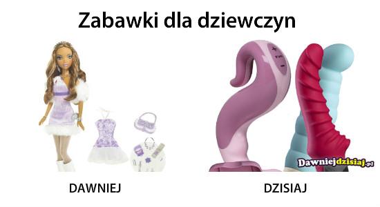 Zabawki dla dziewczyn –