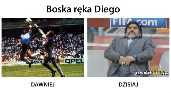 Boska ręka Diego –