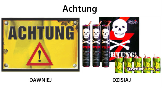 Achtung –