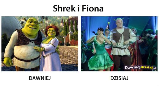 Shrek i Fiona –
