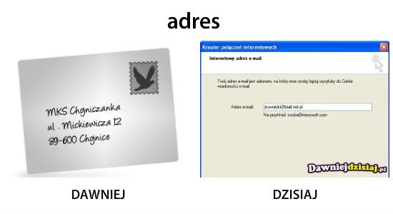 Adres –