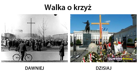 Walka o krzyż –