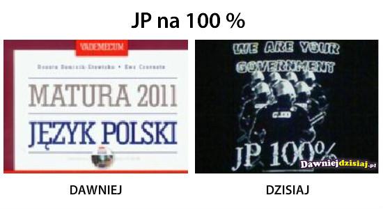 JP na 100 % –