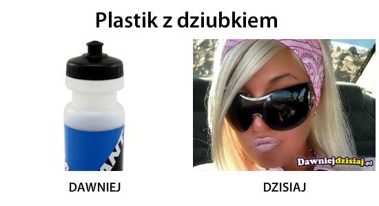 Plastik z dziubkiem –