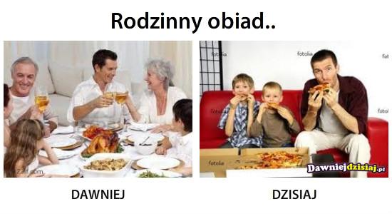 Rodzinny obiad.. –