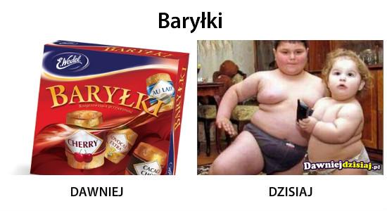 Baryłki –