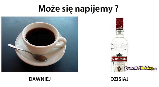 Może się napijemy ? –