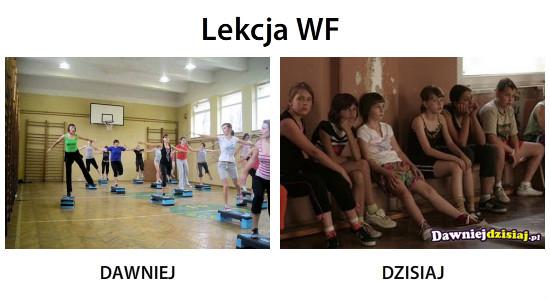 Lekcja WF –