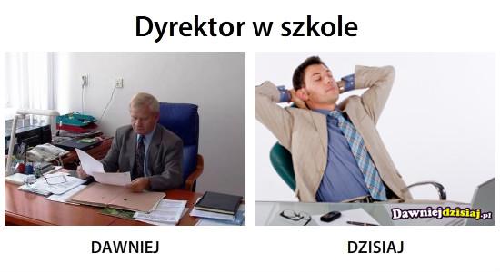Dyrektor w szkole –