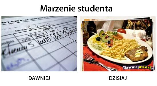 Marzenie studenta –