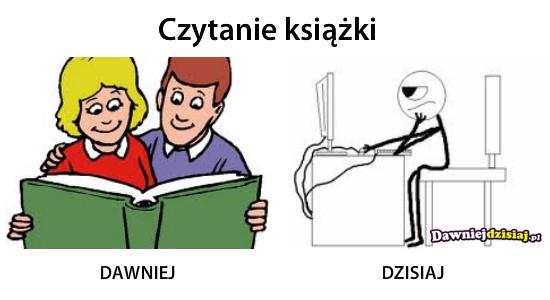 Czytanie książki –