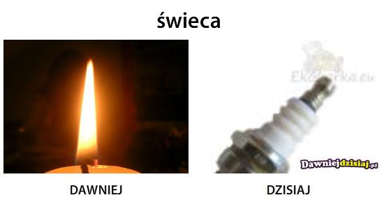świeca –