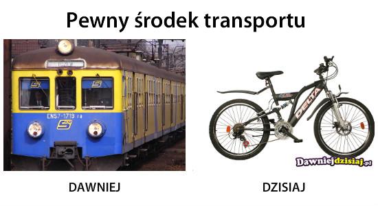 Pewny środek transportu –