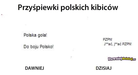 Przyśpiewki polskich kibiców –