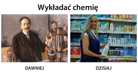 Wykładać chemię –