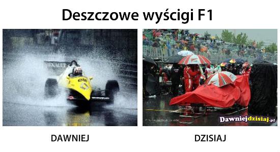 Deszczowe wyścigi F1 –