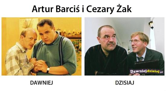 Artur Barciś i Cezary Żak –