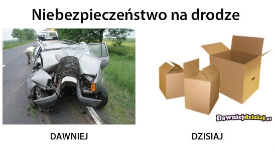 Niebezpieczeństwo na drodze –