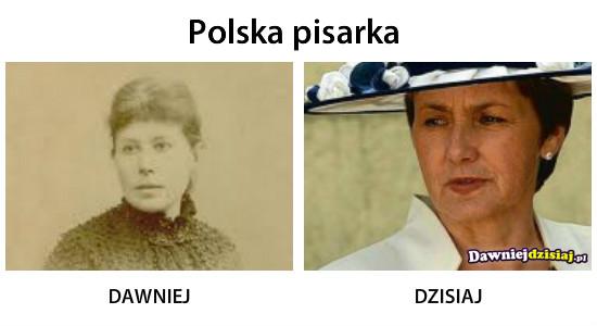 Polska pisarka –