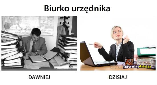 Biurko urzędnika –