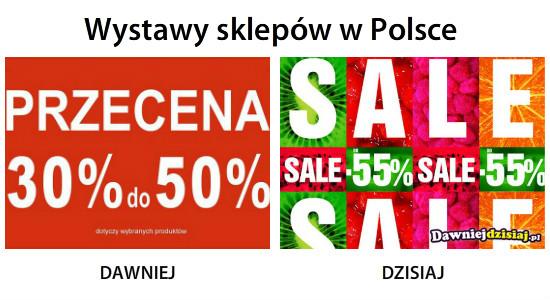 Wystawy sklepów w Polsce –