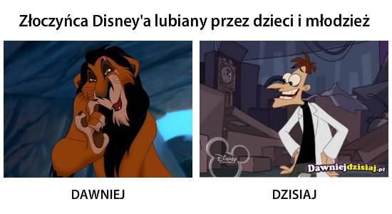 Złoczyńca Disney′a lubiany przez dzieci i młodzież –