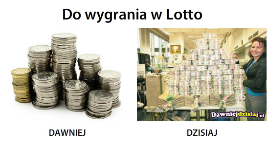 Do wygrania w Lotto –