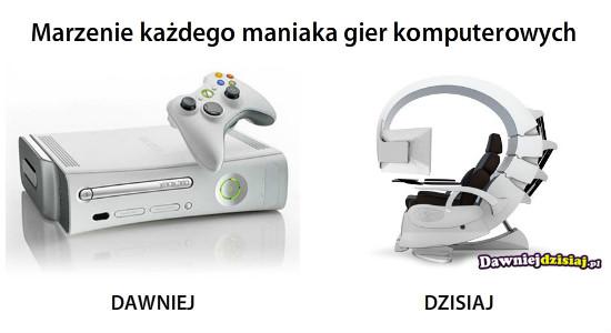 Marzenie każdego maniaka gier komputerowych –