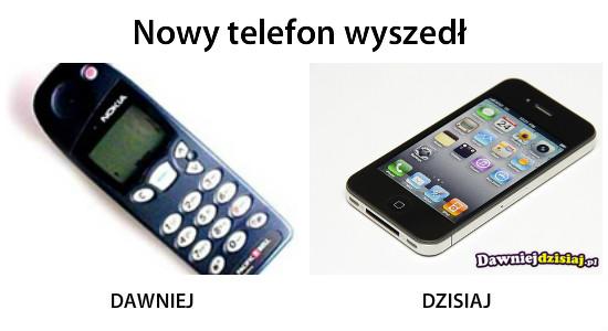 Nowy telefon wyszedł –