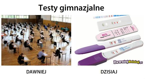 Testy gimnazjalne –