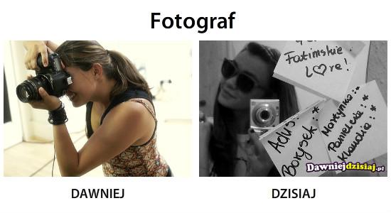 Fotograf –