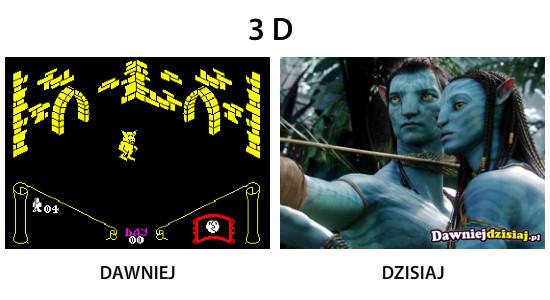 3 D –