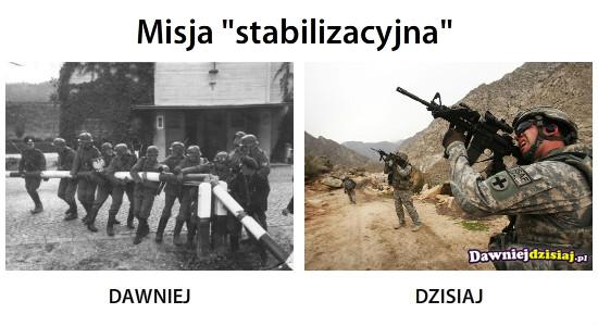 """Misja """"stabilizacyjna"""" –"""