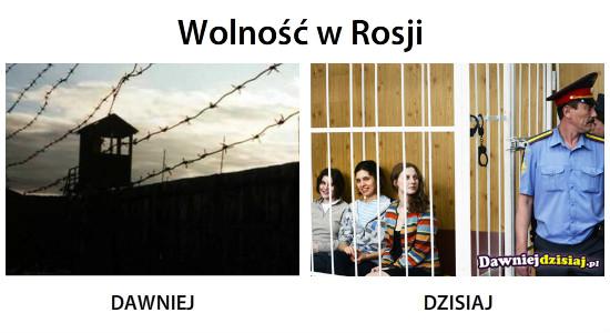 Wolność w Rosji –