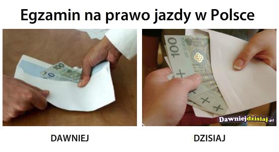 Egzamin na prawo jazdy w Polsce –